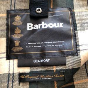 Barbour wax coat